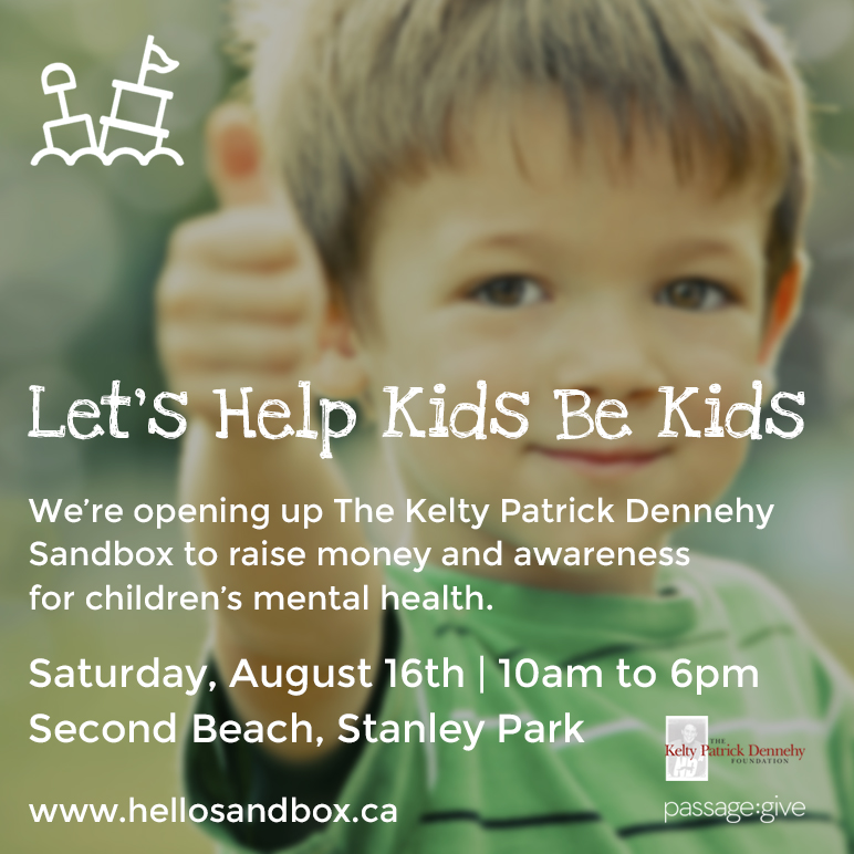 Kelty's Sandbox sponsored by The Kelty Dennehy Foundation